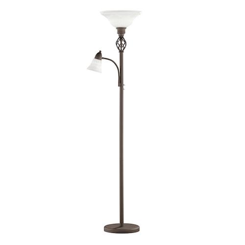 Lámpara de pie rústica modelo CANDELA