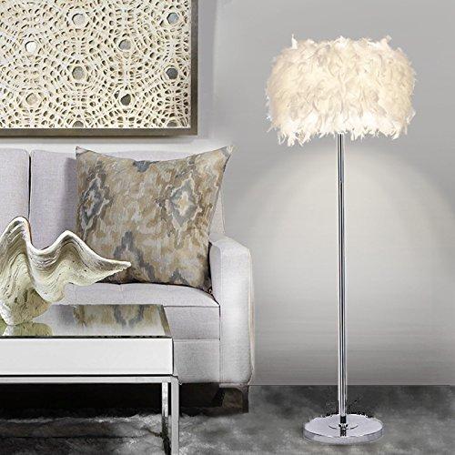 Lámparas de pie de salón modernas