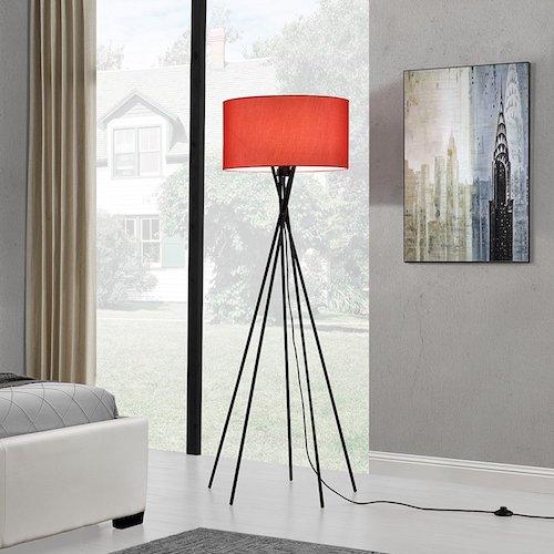 Lámpara de pie moderna de diseño